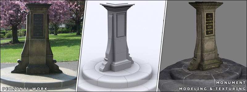 Monument - Modeling & Texturing